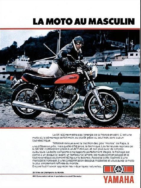 Yamaha rd 500 pignon 15z O-traduction